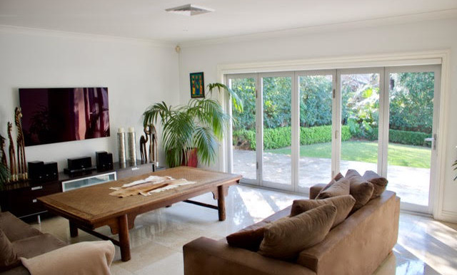 informal living room pengilly
